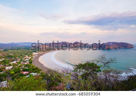 Shutterstock Pacific Ocean Rocks San Juan Del Sur Nicaragua Beach Vacation Beautiful View Sky Tourism Tourist Destination