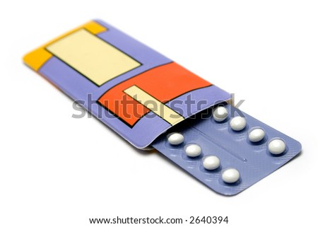 Pack of Birth Control Pills
