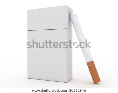 Cigarette Pack Template