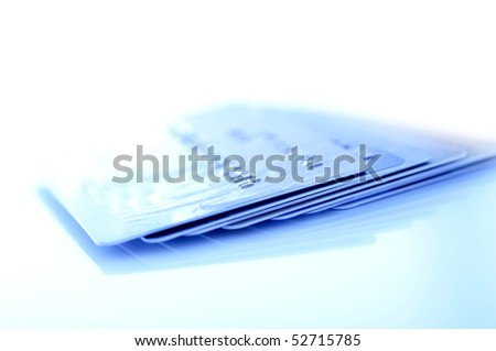 Pack of credit cards