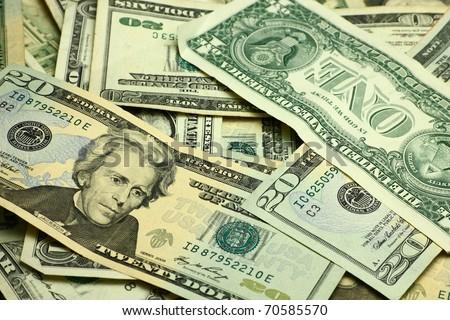 Pack of dollar money