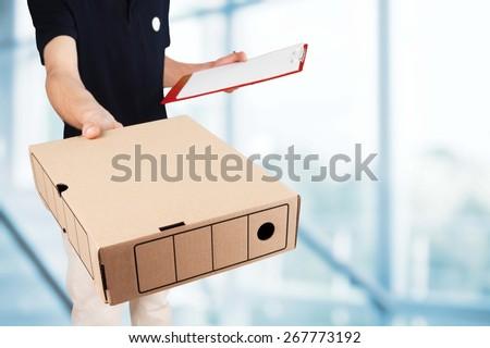 Package, Delivering, Messenger.