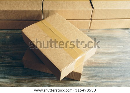 package on the table #315498530