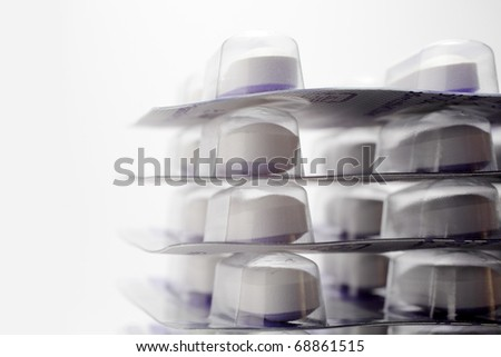 Packs of tablets