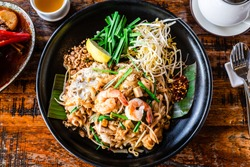 Pad Thai - Birds Eye View
