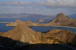 Padar Island in Flores Indonesia