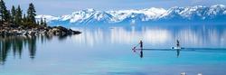 Paddle boarding Lake Tahoe
