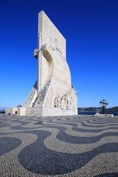 Padrao dos Descobrimentos monument (Monument to the Discoveries) in Lisbon