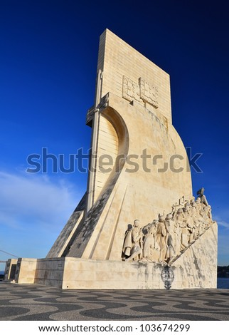 Padrao dos Descombrimentos (Discovery Monument) is an imposing architectural achievement in Belem district of Lisbon