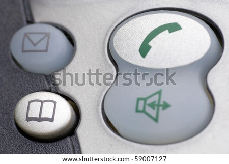 Pads of a telephone