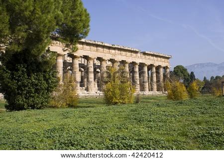 Paestum archaeological site, Italy
