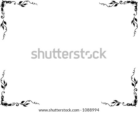 Page Border Stock Photo 1088994 : Shutterstock