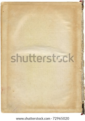 page of antique book
