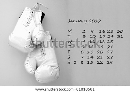 stock photo page of calendar of olympic year month of april sport of boxe 81818581 Online dating kansas
