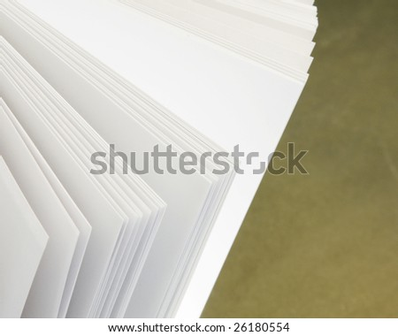 pages of a open book