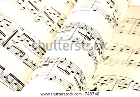 Pages of Sheet Music
