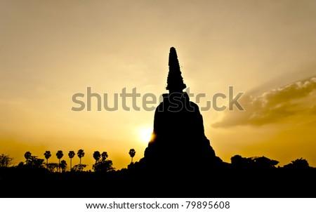 Pagoda at Ayutthaya