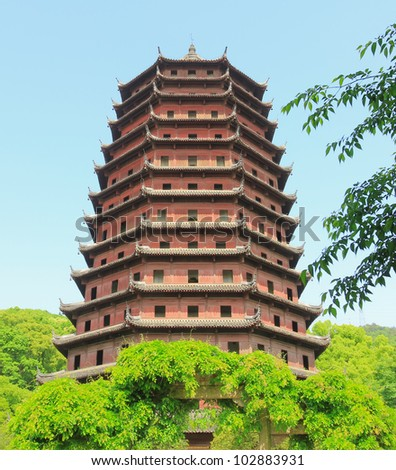 Pagoda of Six Harmonies, Hangzhou, China