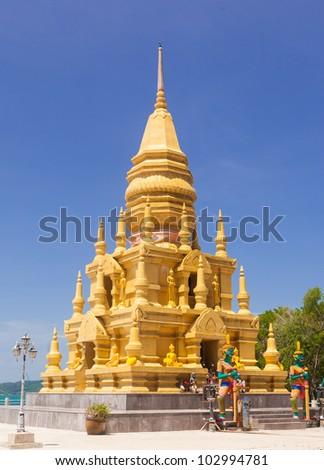 Pagoda of thailand