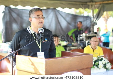 Pahang Malaysia August 20 2016-Unidentified people in TDK LAMDA (M) Family Day #472105510