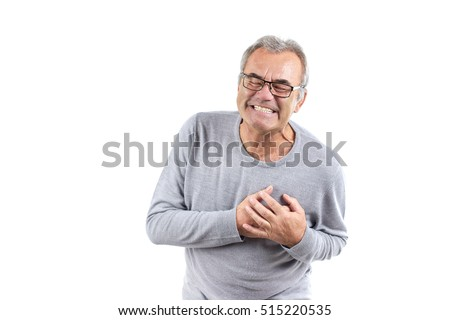 stock photo painful senior man with pain on heart heart attack isolated 515220535 free photos old man on chest pain avopix com