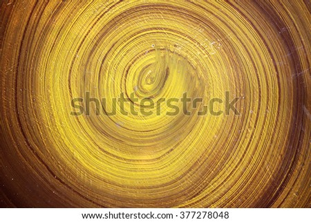 Paint Brush Circle Stroke Texture