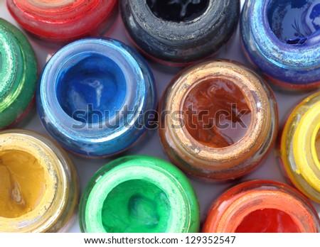 Paint colors background