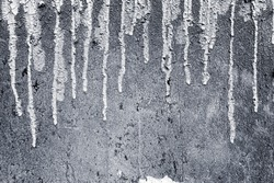Paint dripping wall background,Weathered concrete wall texture and black paint dripping