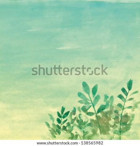paint flower background