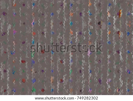 paint like graphic illustration background in tribal style pattern #749282302