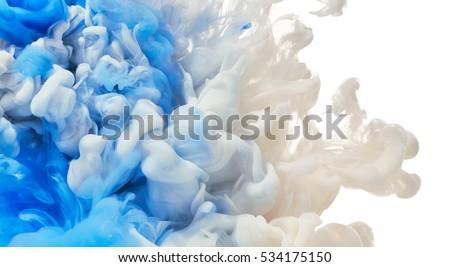 paint splash. abstract...