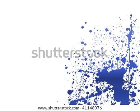 paint splashes spectrum background