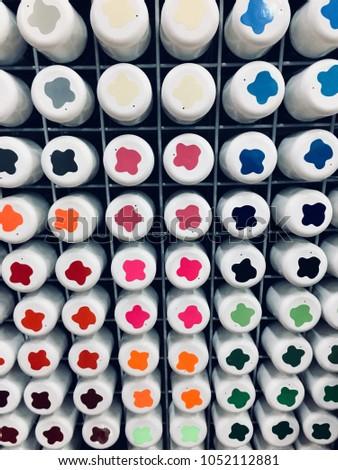 Paint sprays colours #1052112881
