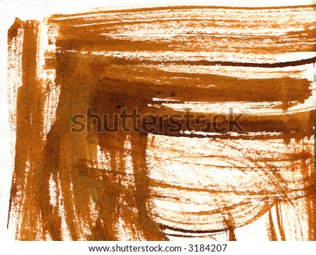paint strokes, border - stock photo