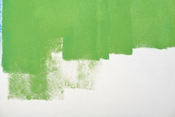 paint wall color background blue green  real texture isolated on white with copy space