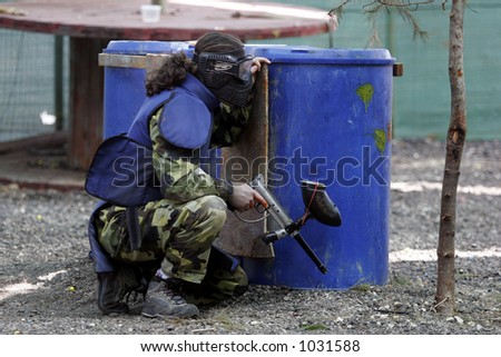 Paintball player- MORE SIMILAR AVAILABLE, PLS LOOK IN MY PORTFOLIO