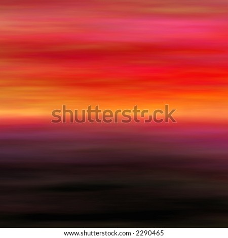 Painted abstract background from abstract landscape series