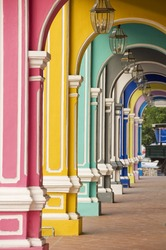 Painted Arches 3, George Town, Penang, Malaysia