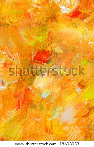 Painted background with charming colors