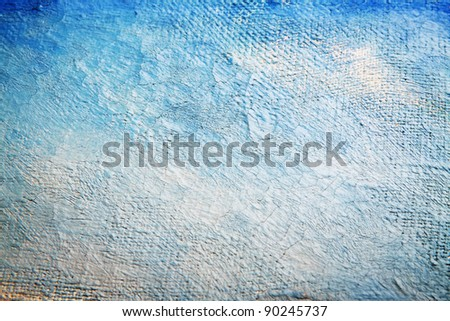 Photo Painting Canvas Painted Canvas Background With