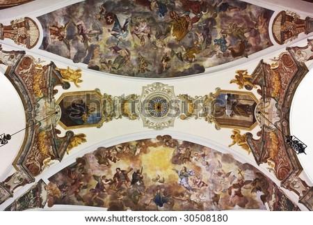 Painted Ceiling in Brevnov Cloister