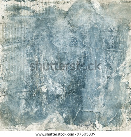 Painted paper texture, grunge background