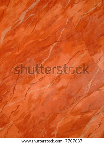 painted red marble texture