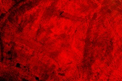 Painted wall old paint with cracks background texture red and black
