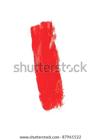 Painting equipment isolated on a white background
