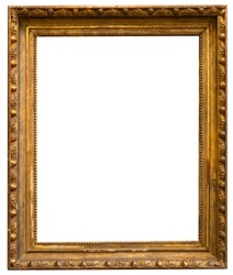 Painting frame isolated interior vintage art
