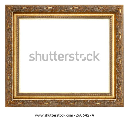 Painting frame with decoration