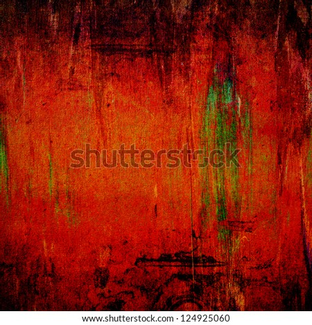 Painting on canvas texture for background