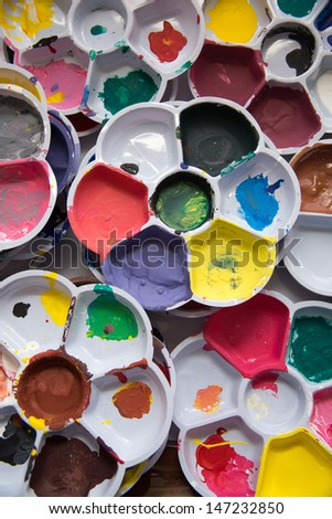 Painting tools and color #147232850