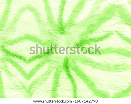 Painting Watercolour Art. Hippie Dye Painting Arts. Green Lime Messy Abstract Element. Acrylic Brush Paint Tie Dye. Tie Dye Modern Hand Drawing Cloth. Artistic Aquarelle Print.